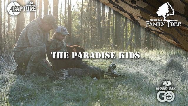 Ohio Youth Turkey Hunt • Chris Paradise and Kids Enjoy the Spring Woods