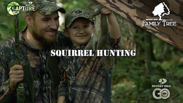 Kentucky Squirrel Hunting Traditions • Walt Gabbard Teaching His Son Boone