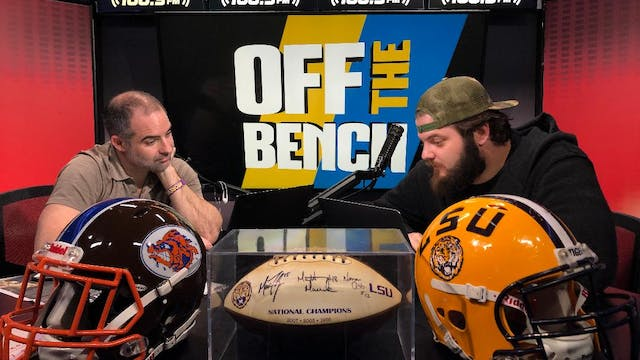 Off The Bench - March 24, 2020