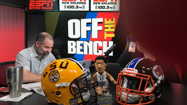 Off The Bench - October 19, 2018