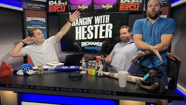Hangin' with Hester - August 21, 2019
