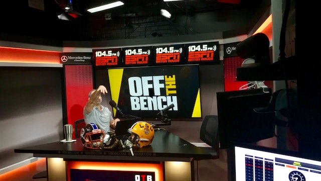 Off The Bench - August 2, 2019