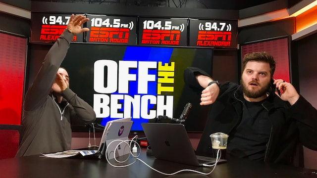 Off The Bench - April 15, 2019