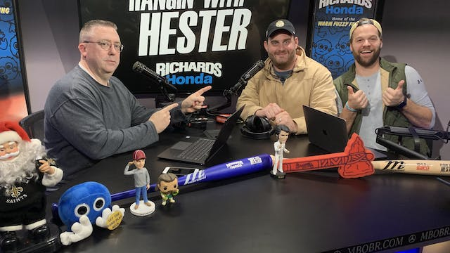 Hangin' with Hester - December 13, 2019