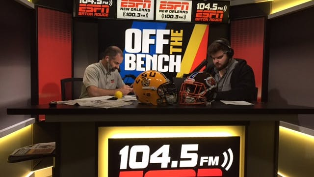 Off The Bench - November 9, 2018