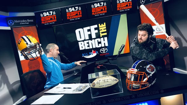 Off The Bench - January 28, 2020