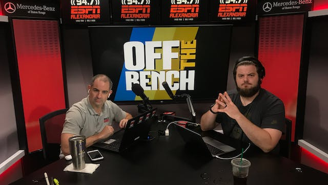 Off The Bench - May 10, 2019