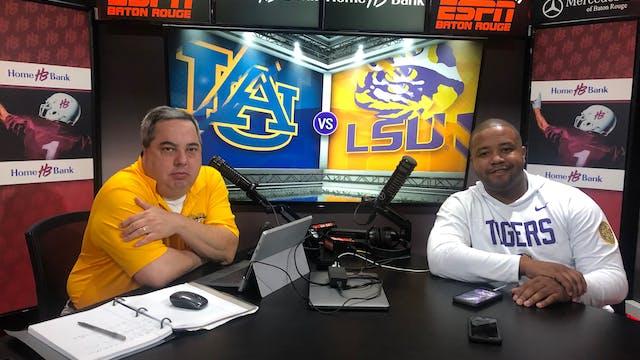 (2) LSU vs (9) Auburn Post | Scoreboa...