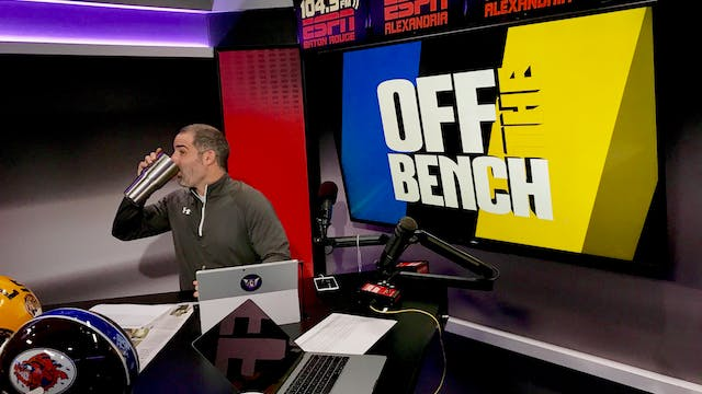 Off The Bench - January 3, 2019
