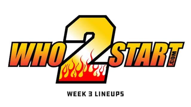 Who2Start TV - Sept 17, 2019