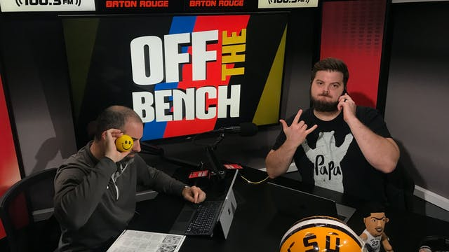 Off The Bench - October 12, 2018