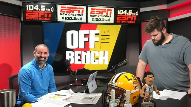 Off the Bench - October 16, 2018