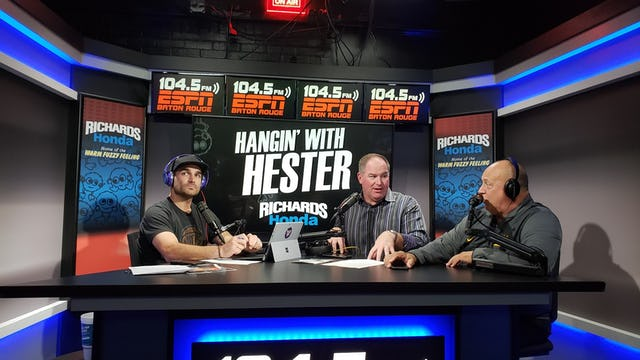 Hangin' with Hester - October 18 2018