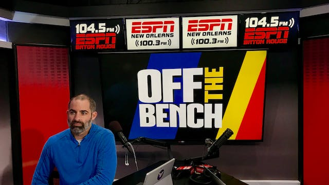 Off The Bench - November 15, 2018