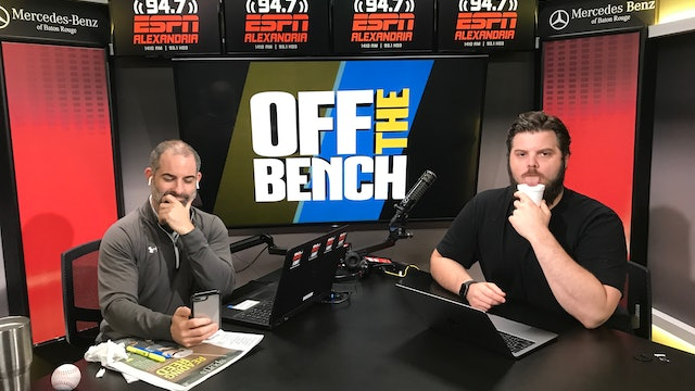 Off The Bench - April 11, 2019