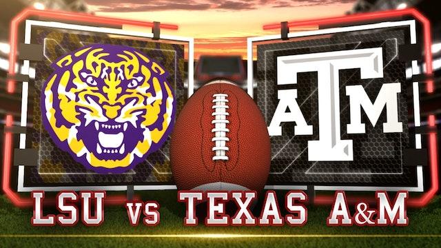 (8) LSU vs (22) Texas A&M Post | Gameday & Scoreboard