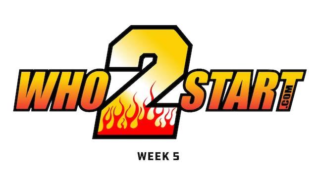 Who2Start TV - October 1, 2019