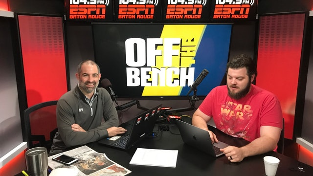 Off The Bench - April 8, 2019