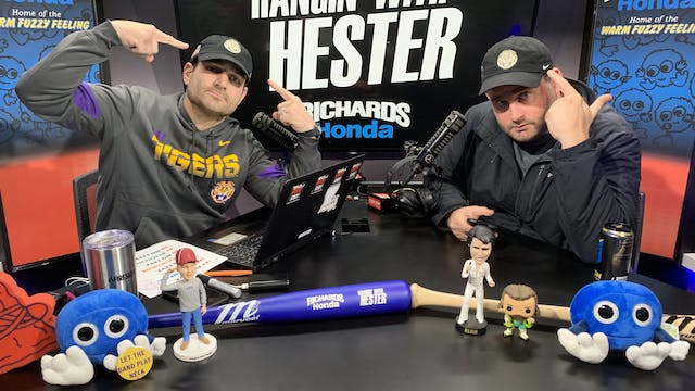Hangin' with Hester - December 31, 2019