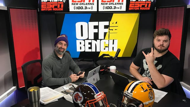 Off The Bench - November 14, 2018