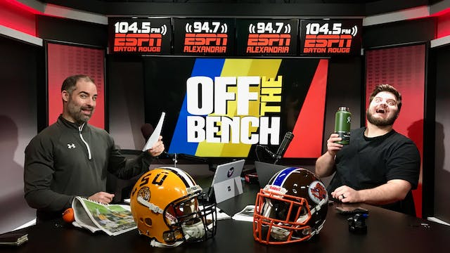 Off The Bench - January 8, 2019