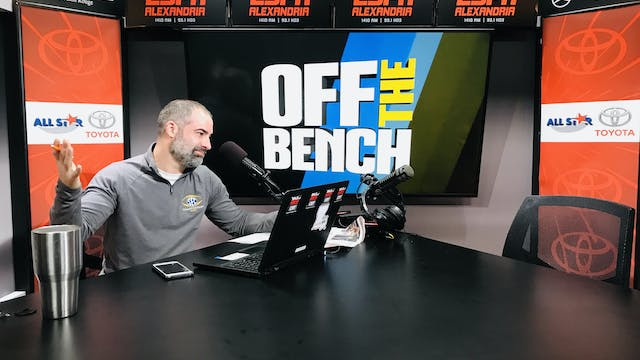 Off The Bench - January 3, 2020