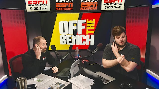 Off The Bench - January 18, 2019