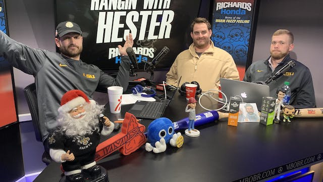 Hangin' with Hester - December 11, 2019
