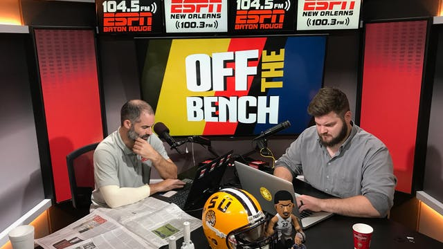 Off The Bench - September 28, 2018
