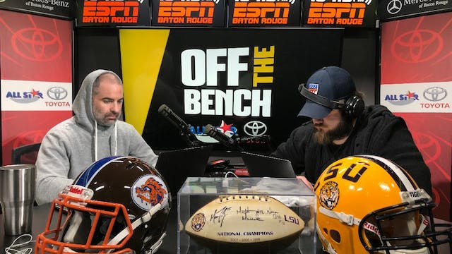 Off The Bench - March 30, 2020