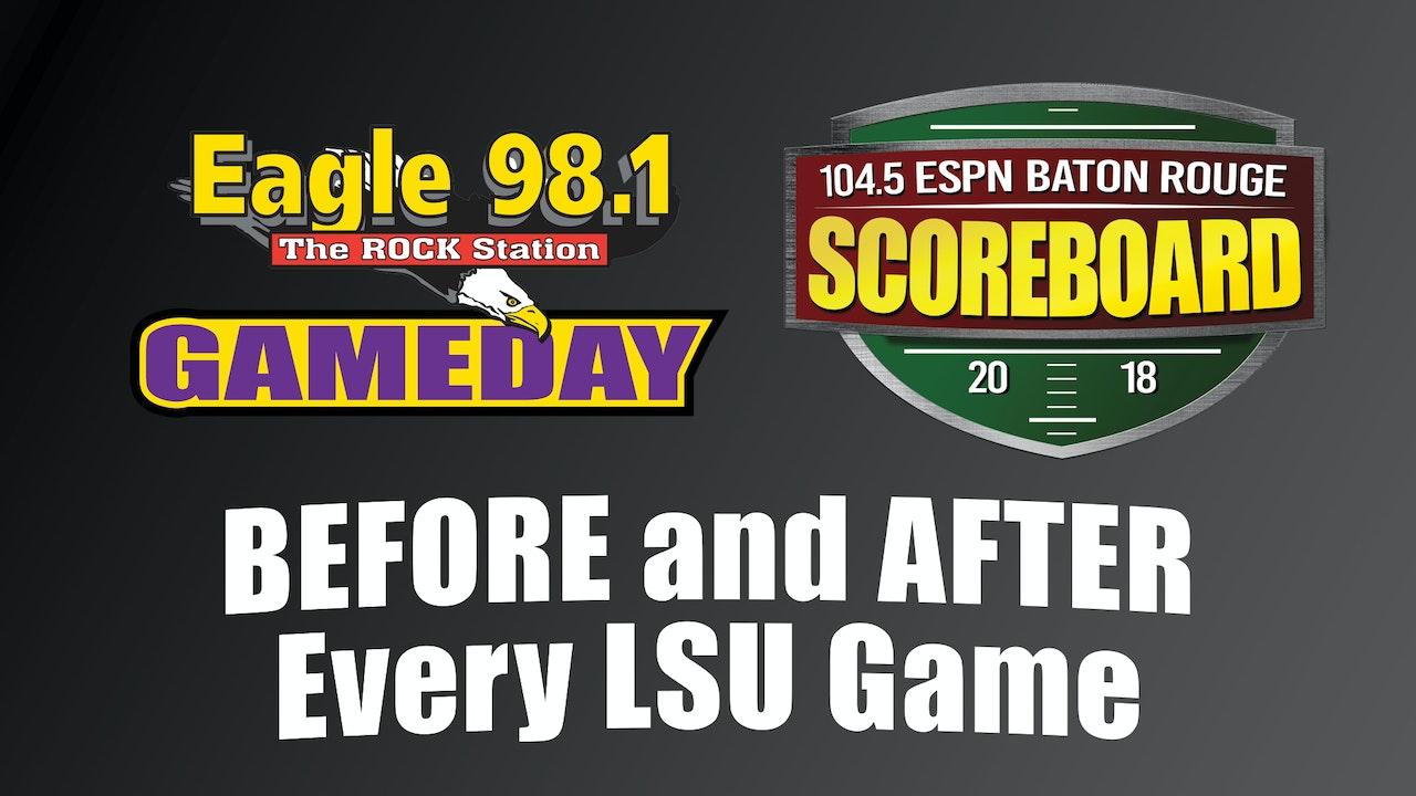 Gameday & Scoreboard: Pre Game