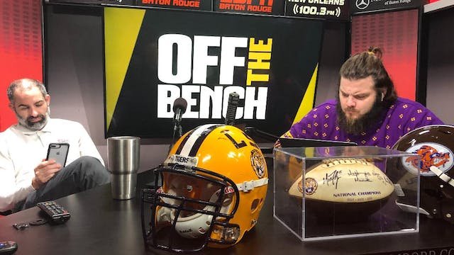 Off The Bench - October 30, 2019