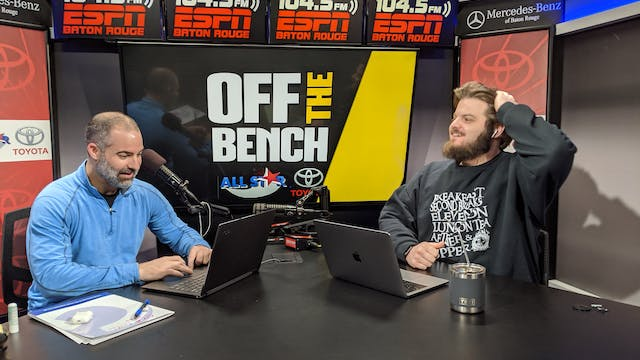 Off The Bench - February 14, 2020