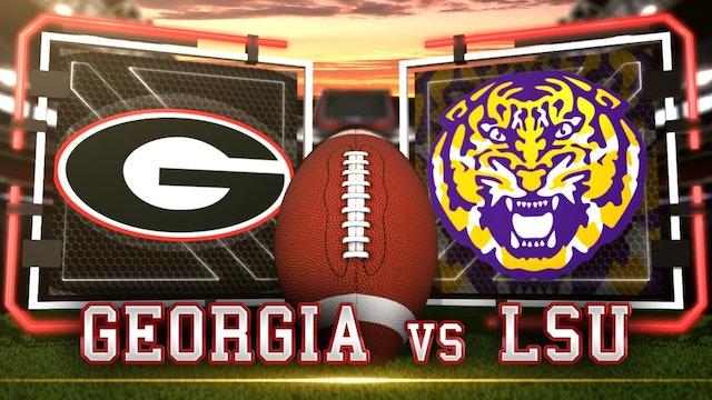 (13) LSU vs (2) Georgia Pre | Gameday & Scoreboard