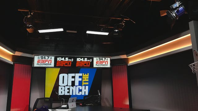 Off The Bench - January 25, 2019
