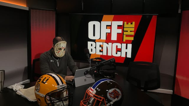 Off The Bench - October 30, 2018