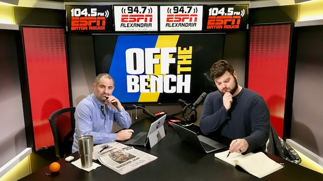 Off The Bench - January 31, 2019