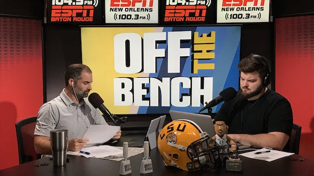 Off The Bench - August 20, 2018