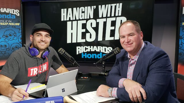 Hangin' with Hester - October 11 2018