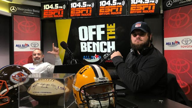 Off The Bench | April 15, 2020