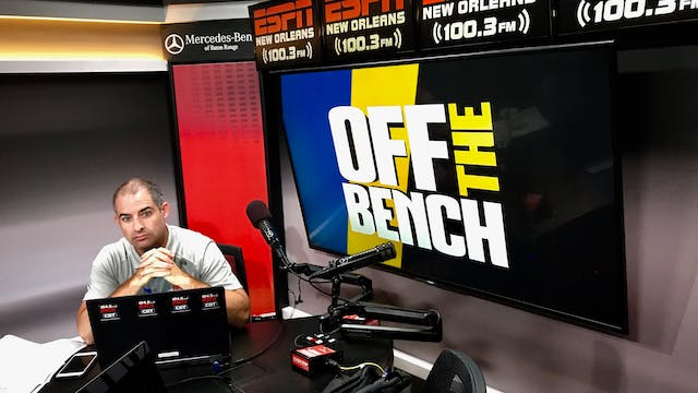 Off The Bench - July 11, 2019