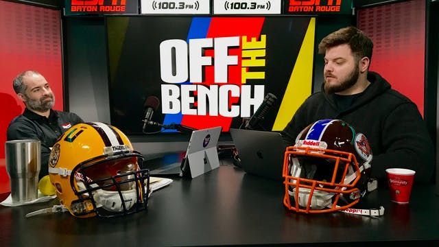 Off The Bench - November 13, 2018