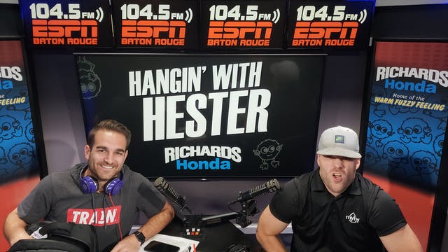 Hangin' with Hester - August 21 2018