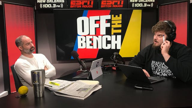 Off The Bench - November 6, 2018