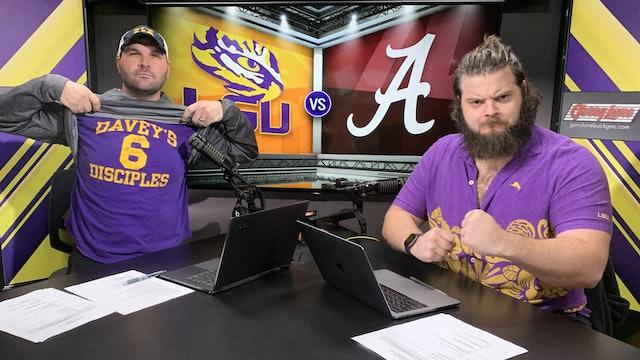 (2) LSU vs (3) Alabama Pre | Gameday and Scoreboard