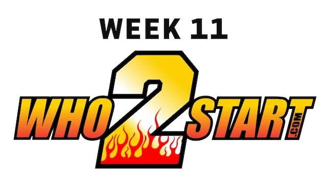 Who2Start TV - November 13, 2019