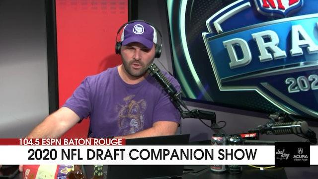 2020 NFL Draft Companion Show | Rounds 4-7
