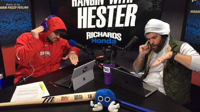 Hangin' with Hester - January 30, 2019