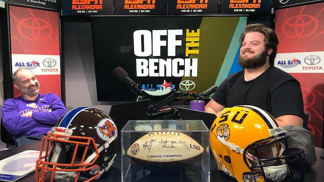 Off The Bench - March 31, 2020