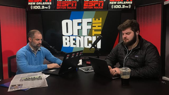 Off The Bench - March 19, 2019